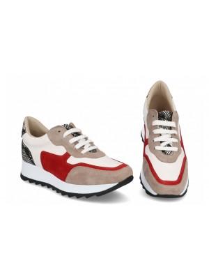 Sneakers din piele naturala Meli