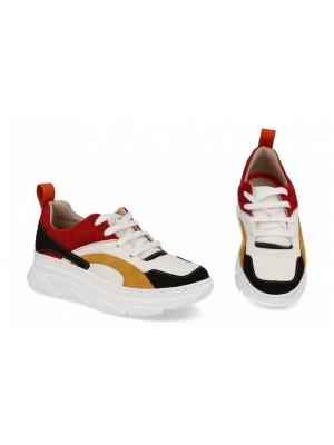 Sneakers din piele naturala Vida