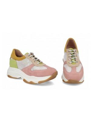 Sneakers din piele naturala Alice
