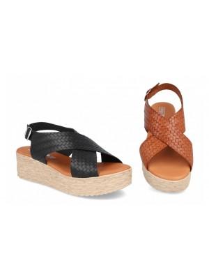 Sandale din piele Oana