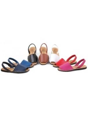 Sandale din piele naturala AVARCA, model Clasic