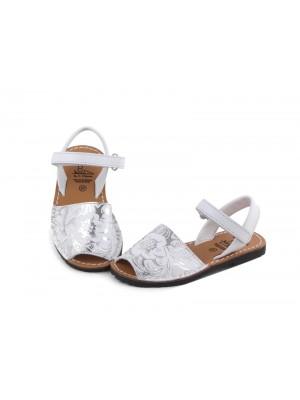 Sandale din piele naturala pentru copii , Avarca ROSE