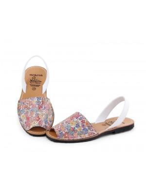 Sandale din piele naturala , Avarca Blume