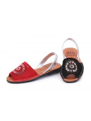 Sandale din piele naturala AVARCA AZTEC