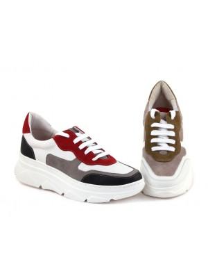 Sneakers din piele naturala Alis