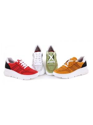 Sneakers din piele naturala Bella