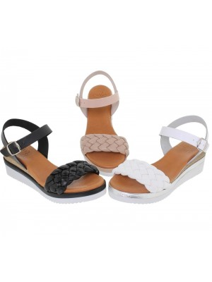 Sandale din piele naturala ELLS