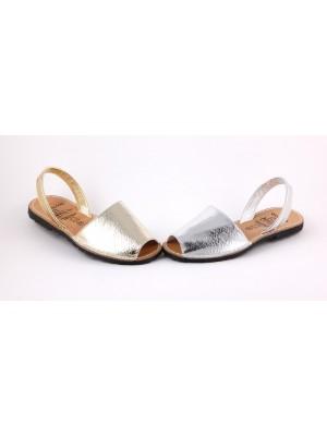 Sandale din piele naturala AVARCA , striatii