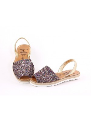 Sandale din piele naturala ,AVARCA ROPE