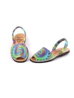 Sandale din piele naturala Avarca Trippy