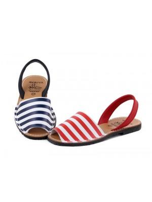 Sandale din piele naturala , Avarca ROW