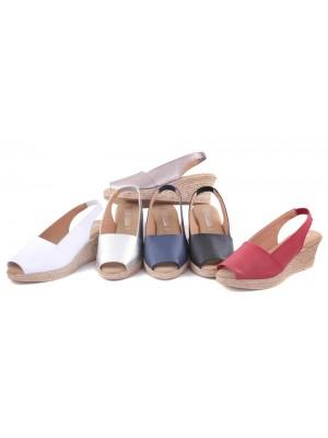 Sandale din piele Roua