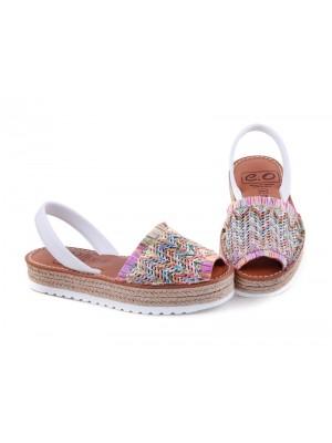 Sandale din piele naturala,  Avarca Purl