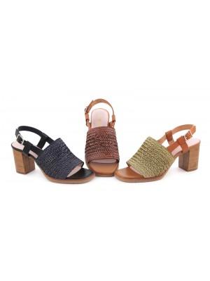 Sandale din piele Zeny