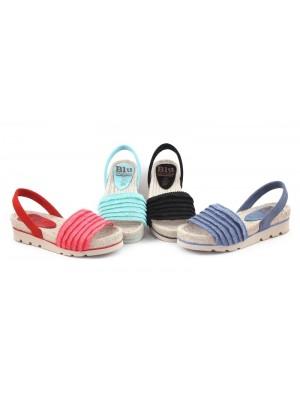 Sandale din piele naturala Cuba