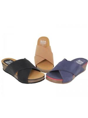 Papuci din piele NIKOS