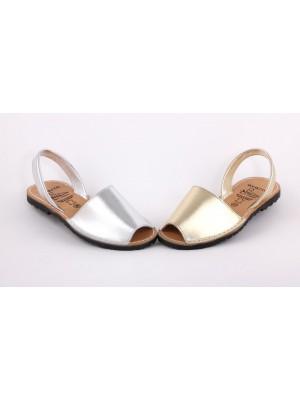 Sandale din piele naturala AVARCA , Platas