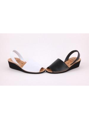 Sandale din piele naturala , AVARCA Wedge