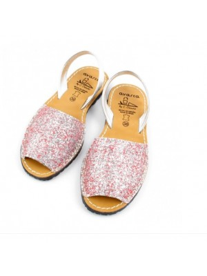 Set mama fiica Avarca Glitter Roz